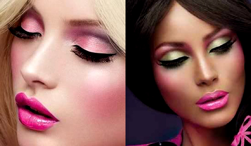 mac Barbie makeup loves